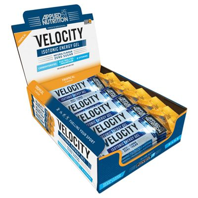 Applied Nutrition Velocity Energy Gel - Pack of 20 - Tropical