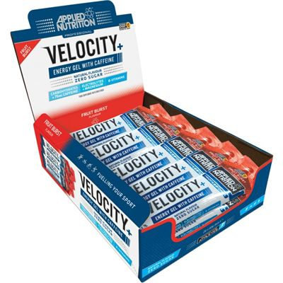 Applied Nutrition Velocity Plus Energy Gel - Pack of 20 - Fruit Burst