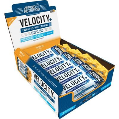 Applied Nutrition Velocity Plus Energy Gel - Pack of 20 - Tropical