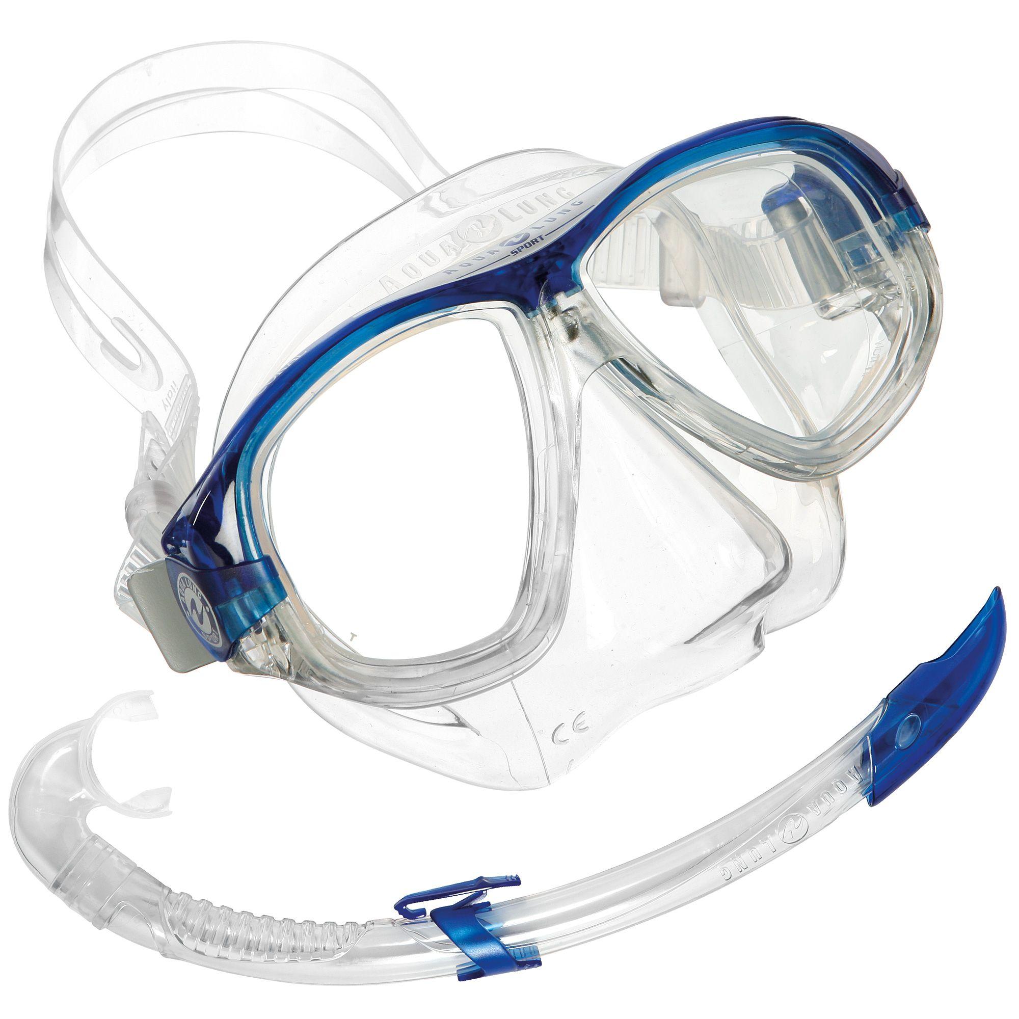 Sorry, that aqua lung snorkel set