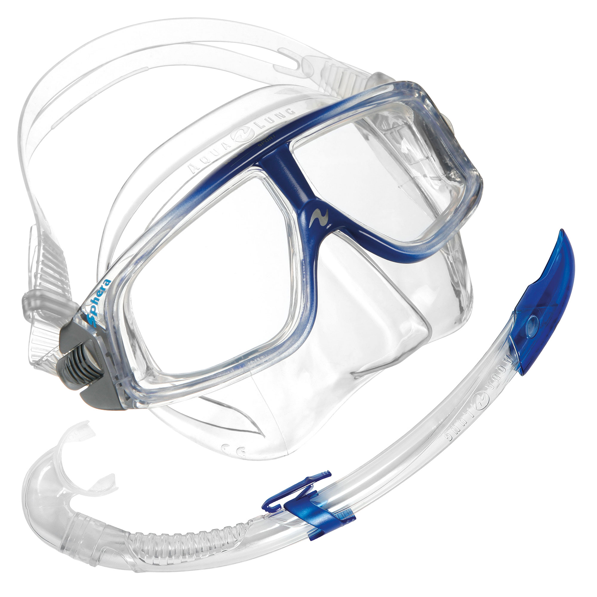 Aqua Lung Sphera LX Mask and Airflex LX Snorkel Set
