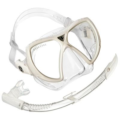 Aqua Lung Vision Flex LX Mask and Airflex Purge LX Snorkel Set