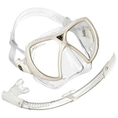 Aqua Lung Vision Flex LX Mask and Airflex Purge LX Snorkel Set