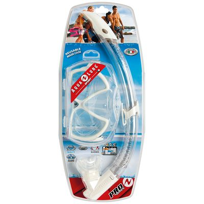 Aqua Lung Vision Flex LX Mask and Airflex Purge LX Snorkel Set Packaging