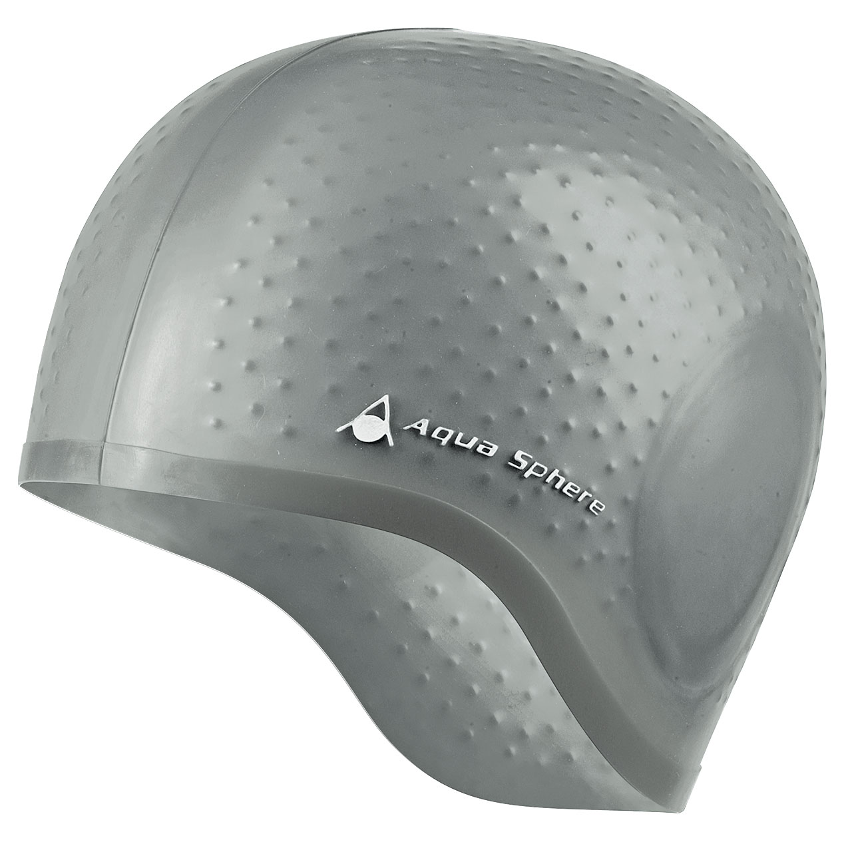 Aqua Sphere Aqua Glide Swimming Cap  Silver