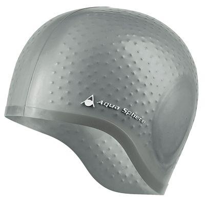Aqua Sphere Aqua Glide Swimming Cap - Silver