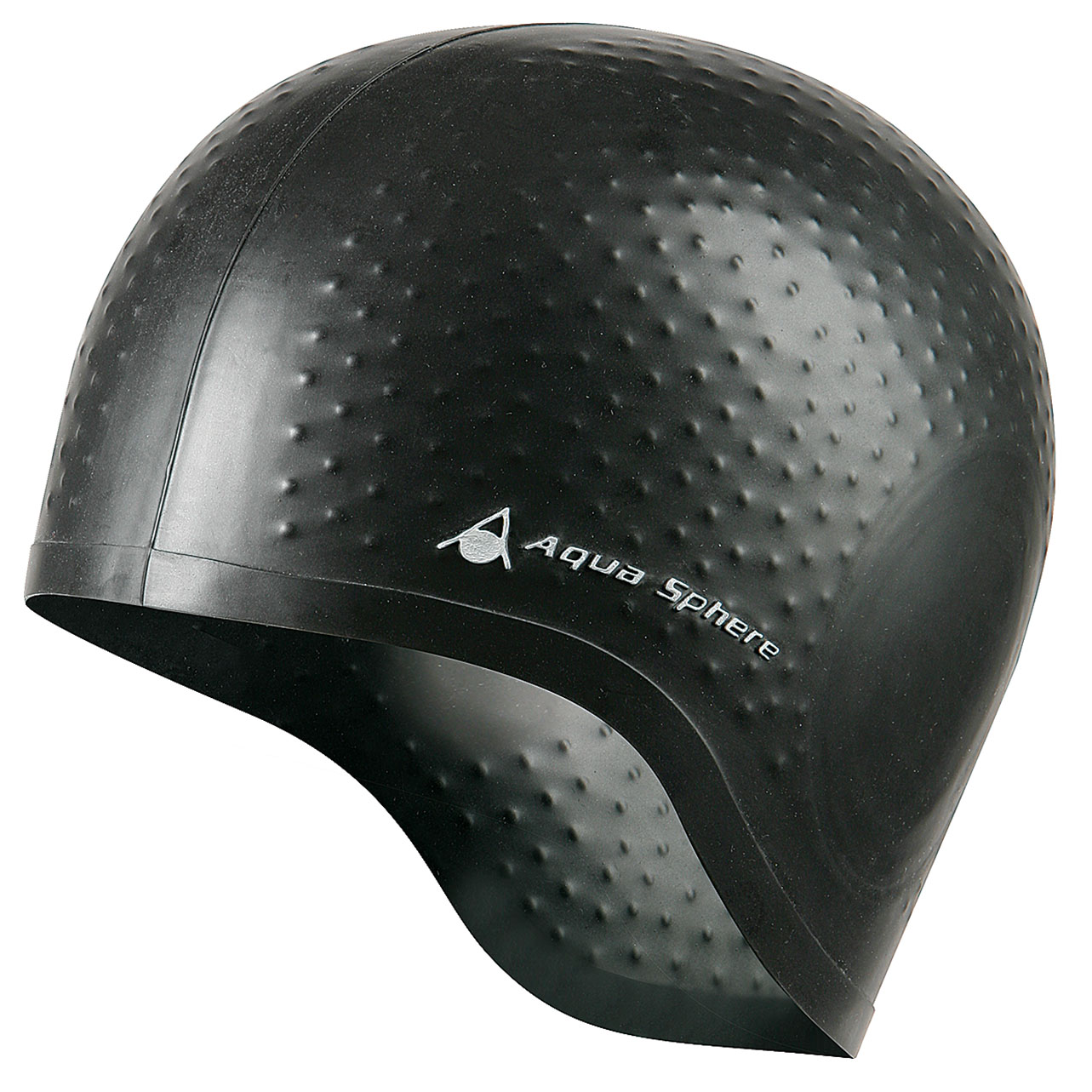 Aqua Sphere Aqua Glide Swimming Cap  Black