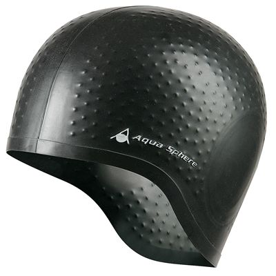Aqua Sphere Aqua Glide Swimming Cap - Black