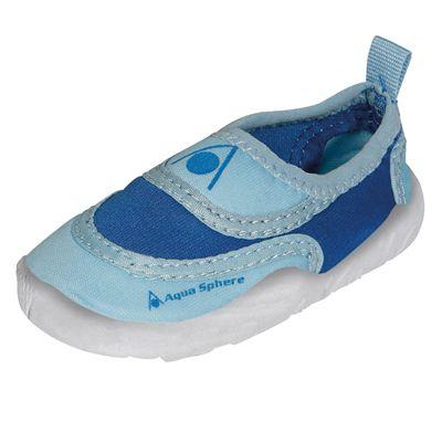 07d7e81993c4 Aqua Sphere Beachwalker Kids Water Shoes-Blue-Side