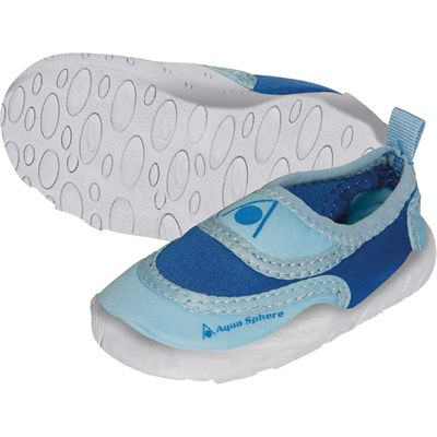 Aqua Sphere Beachwalker Kids Water Shoes-Blue