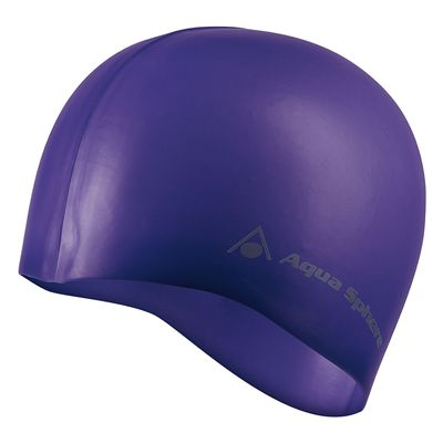 Aqua Sphere Classic Fashion Swimming Cap Purple