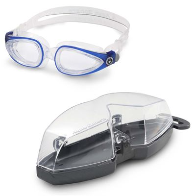 Aqua Sphere Eagle Swimming Goggles - Blue - Cover