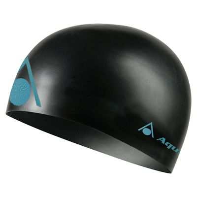 Aqua Sphere Energize Swimming Cap - Black/Blue