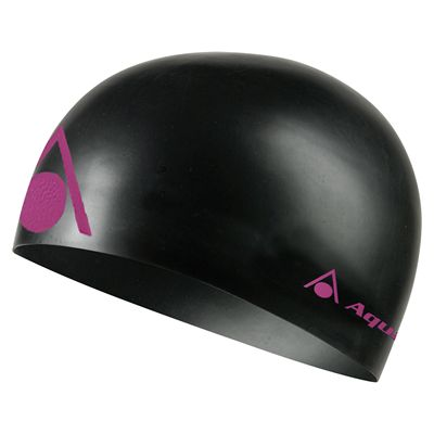Aqua Sphere Energize Swimming Cap - Black/Pink