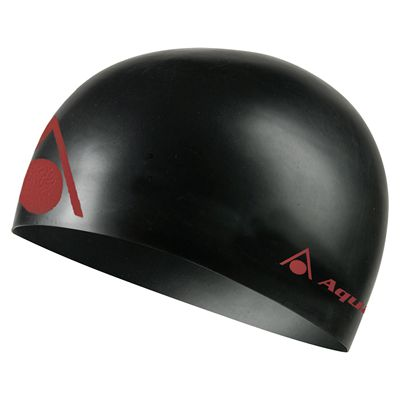 Aqua Sphere Energize Swimming Cap - Black/Red