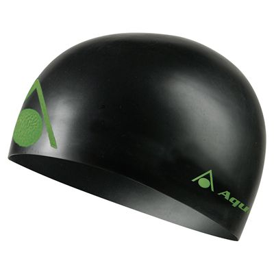 Aqua Sphere Energize Swimming Cap - Black/Green