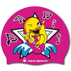 Aqua Sphere Duck Silicone Graphic Swimming Cap