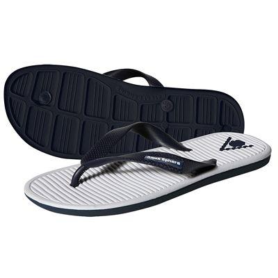 Aqua Sphere Hawaii Pool Sandals-White-Blue