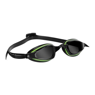 Aqua Sphere K180+ Goggles with Tinted Lens Green Black