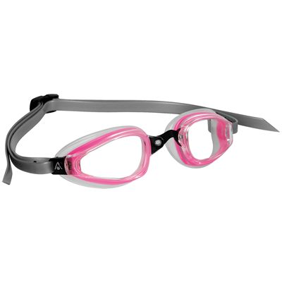 Aqua Sphere K180+ Lady Goggles with Clear Lens Pink