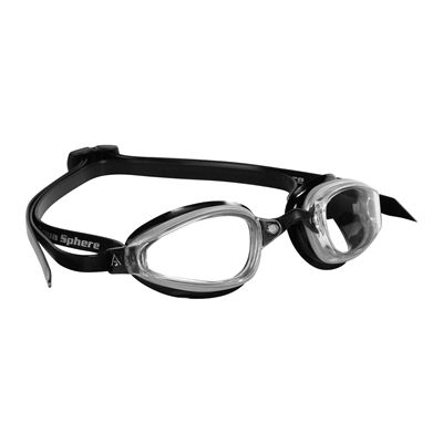 Aqua Sphere K180 Goggles with Clear Lens Black