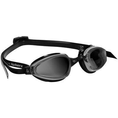 Aqua Sphere K180 Goggles with Tinted Lens Black