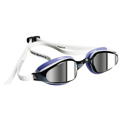 Aqua Sphere K180 Ladies Swimming Goggles - Mirrored Lens Image