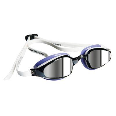 Aqua Sphere K180 Ladies Swimming Goggles - Mirrored Lens Image