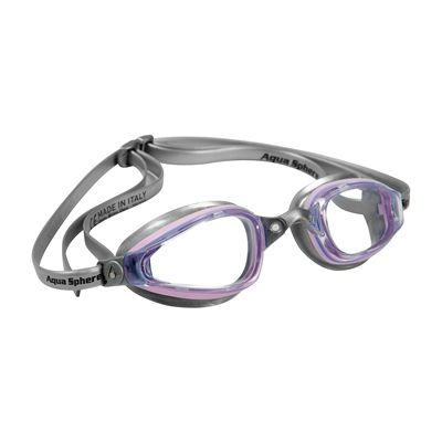 Aqua Sphere K180 Lady Goggles with Clear Lens Light Pink