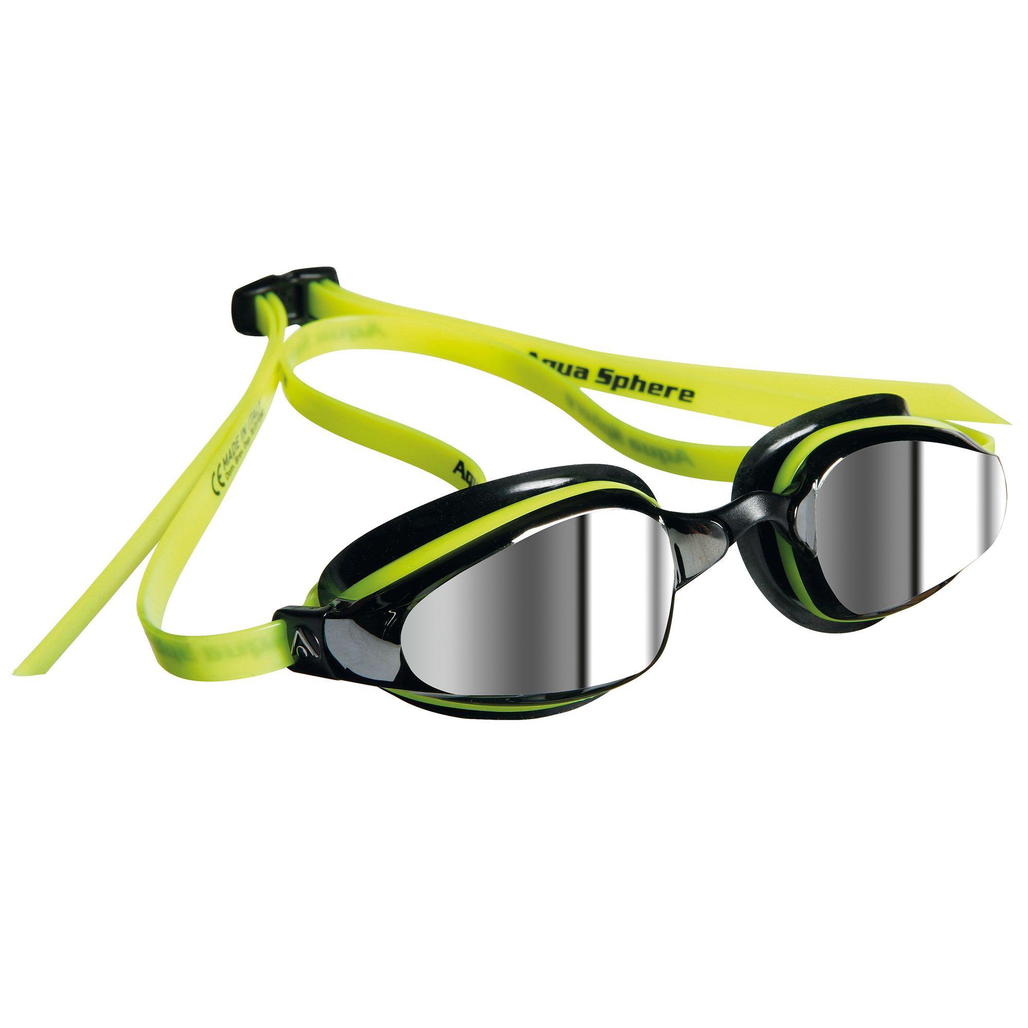 Aqua Sphere K180 Swimming Goggles Mirrored Lens
