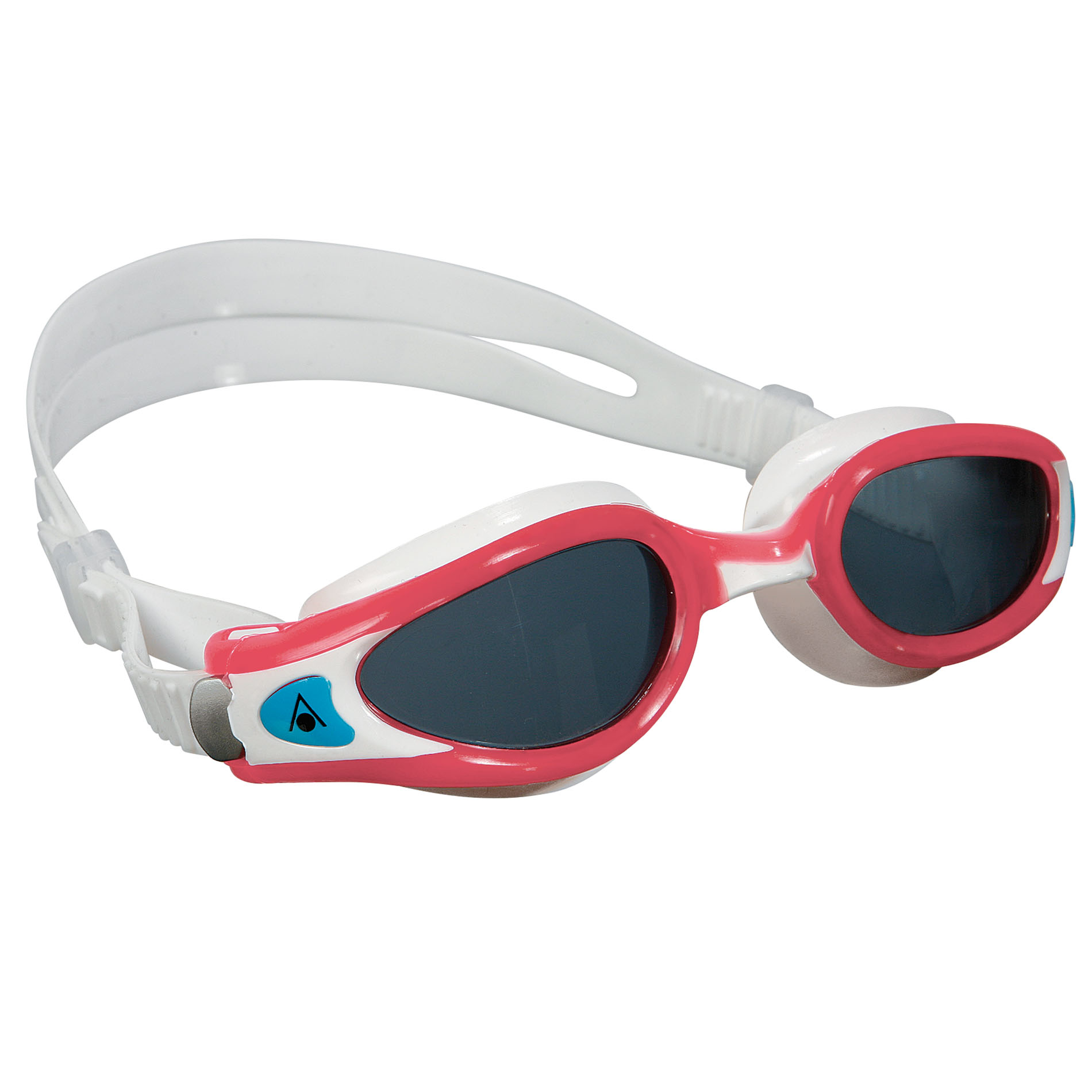 Aqua Sphere Kaiman Exo Ladies Swimming Goggles  Tinted Lens  RedWhite