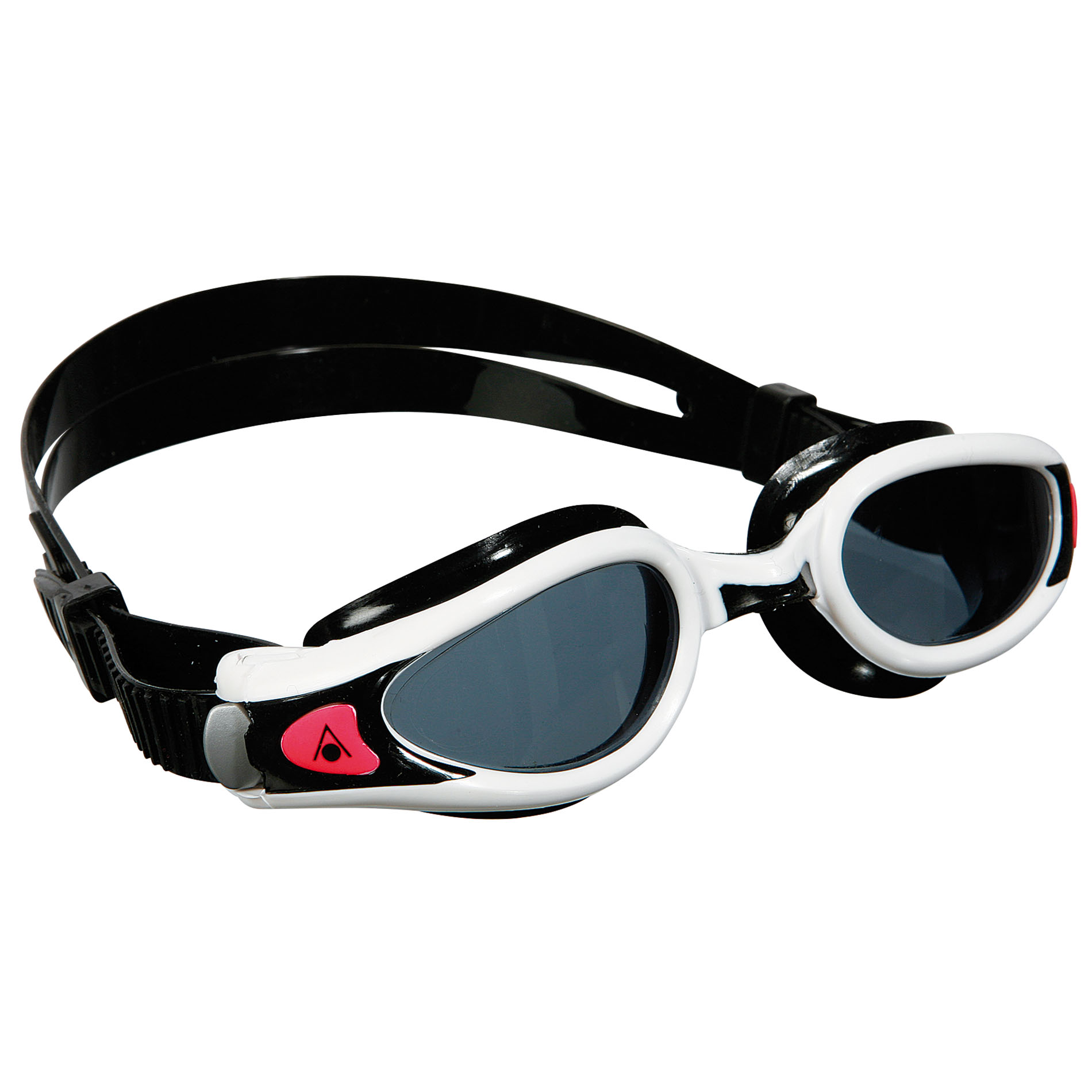 Aqua Sphere Kaiman Exo Ladies Swimming Goggles  Tinted Lens  WhiteBlack