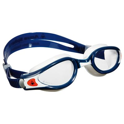 Aqua Sphere Kaiman Exo Small Fit Swimming Goggles - Clear Lens
