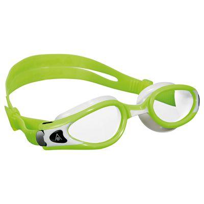 Aqua Sphere Kaiman Exo Small Fit Swimming Goggles - Lime/White