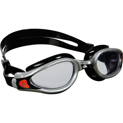 Aqua Sphere Seal 2 Kids Swimming Mask - Clear Lens - Black/Silver