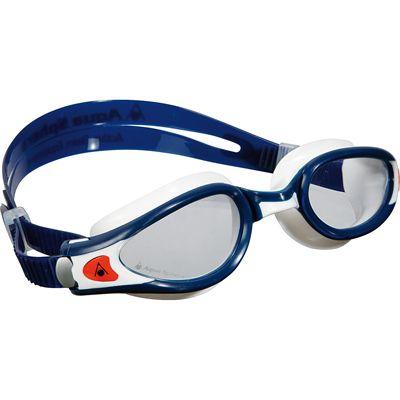 Aqua Sphere Seal 2 Kids Swimming Mask - Clear Lens - White/Blue