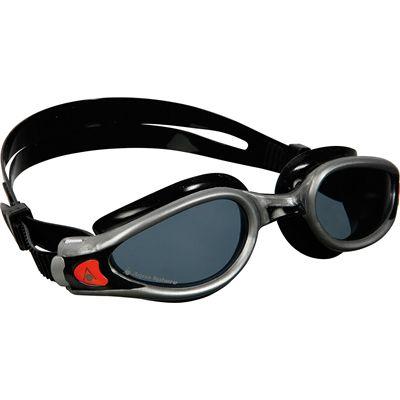 Aqua Sphere Kaiman Exo Swimming Goggles - Tinted Lens - Silver