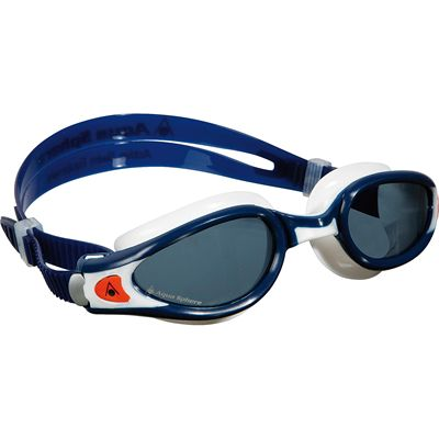 Aqua Sphere Kaiman Exo Swimming Goggles - Tinted Lens - Blue/White