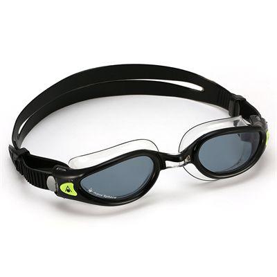 Aqua Sphere Kaiman Exo Swimming Goggles - Tinted Lens - Black