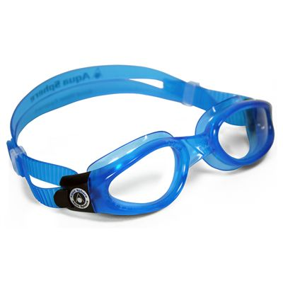 Kaiman Goggles - Clear Lens - Small Face - Blue