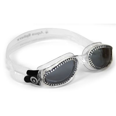 Aqua Sphere Kaiman Small Fit Swimming Goggles-Tinted Lens-Clear