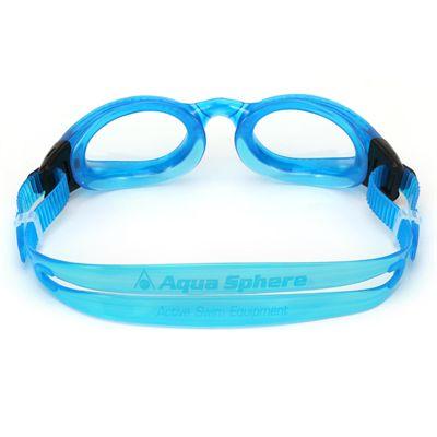 Aqua Sphere Kaiman Swimming Goggles - Clear Lens - Blue - Back