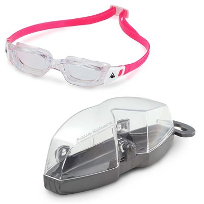 Aqua Sphere Kameleon Junior Swimming Goggles - Pink/Cover