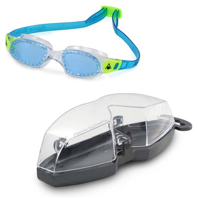 Aqua Sphere Kameleon Kids Swimming Goggles - Clear - Cover