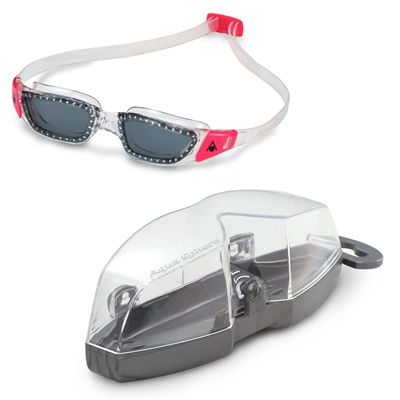 Aqua Sphere Kameleon Ladies Swimming Goggles - Smoked - Cover
