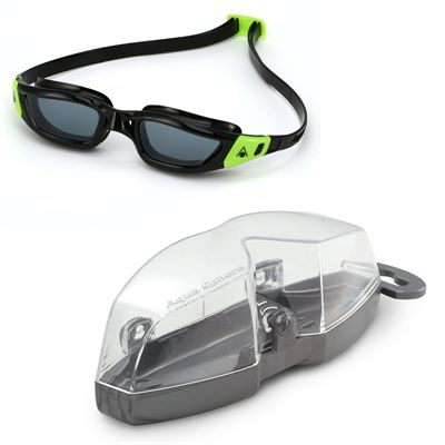 Aqua Sphere Kameleon Swimming Goggles - Black/Smoke - Cover
