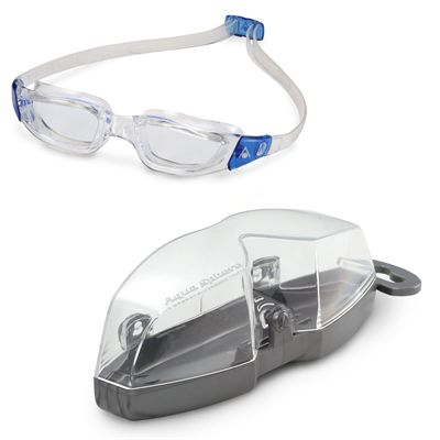 Aqua Sphere Kameleon Swimming Goggles - Clear/Clear - Cover