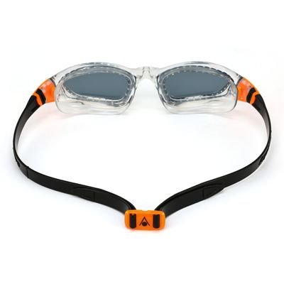 Aqua Sphere Kameleon Swimming Goggles - White/Orange - Back