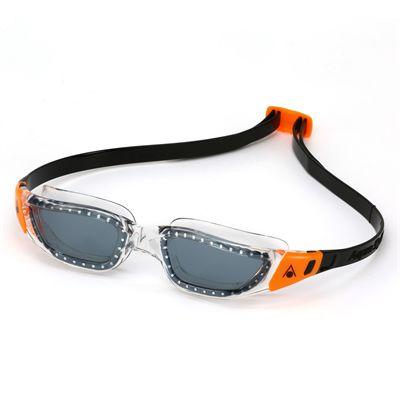 Aqua Sphere Kameleon Swimming Goggles - White/Orange