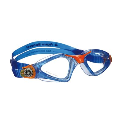 Aqua Sphere Kayenne Junior Goggles with Clear Lens Blue